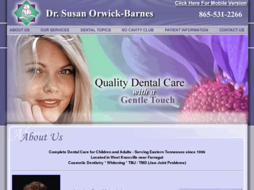 Knoxville, TN 37919  West Knoxville General & Cosmetic Dentistry  Dr. Jim   Kotsianas and his team of dental professionals of West Knoxville will make you