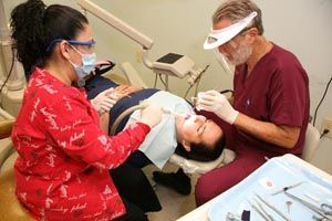Finding a dentist who takes Medicaid can be difficult. Only about one in three   Georgia dentists accept payment from the state-run program. Dentists say money