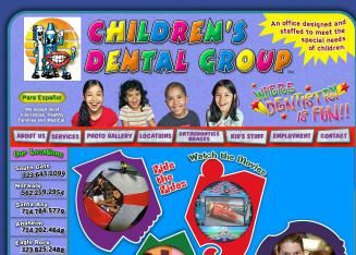 Children's Dental Group of South Gate Welcomes you and your family to our   Dental Office. Here at Children's Dental Group, we pride ourselves on being a fun   and friend place for your child to get dental treatment.  South Gate CA 90280