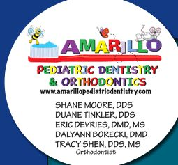 Pediatric Dentistry directory listing for Amarillo, TX (Texas)