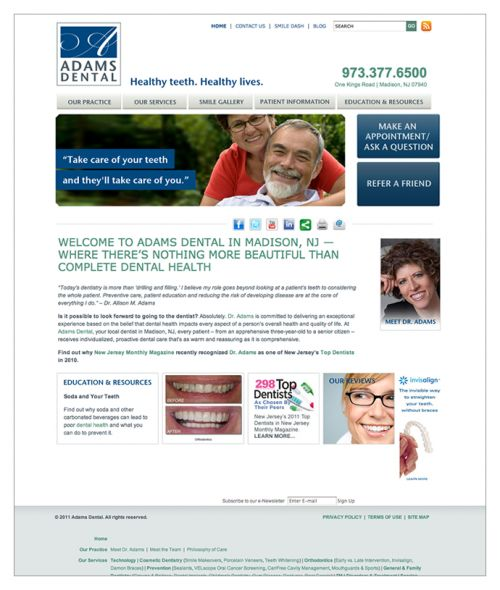"2 Reviews of Adams Dental ""When I was a little girl, I was taken to a dentist who I   am certain purchased his instruments from a medieval  Madison, NJ 07940"