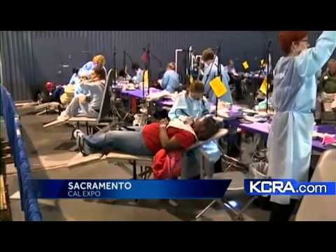 24 Aug 2012  FREE Dental Care Clinic by CDA Cares Friday and Saturday, August 24-25 from   6 a.m. to 6 p.m.. Cal Expo 1600 Exposition Blvd. Sacramento