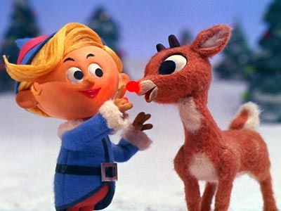 The main character, Rudolph is the lovable young reindeer who is initially  is   one of Santa's elves who doesn't like to make toys, he wants to be a dentist   instead.  Poor Hermey has had so many variations of his name in the media   and