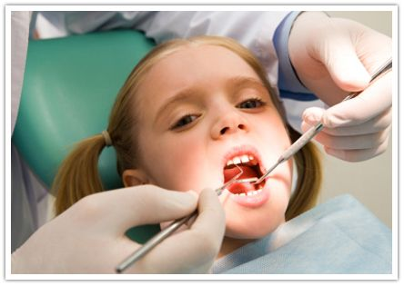 Your child's first visit to the dentist should happen before his or her first birthday.    How do I prepare my child and myself for the visit?  For children under 36   months, the parent may need to sit in the dental chair and hold the child during   the