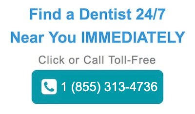 I had great diffuculty finding a dentist in my area, the local health authority in your   area should have a designated phone line that you can discuss any potential