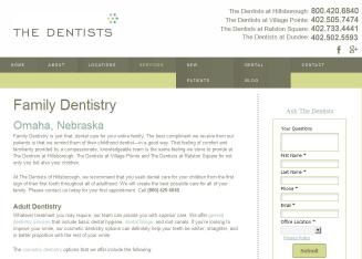 Timber Ridge Dental Group is located in Omaha, NE. Same Day Emergency   Care, Root Canal Treatment, Oral Surgery, Medicaid Welcome, Insurance   Welcome