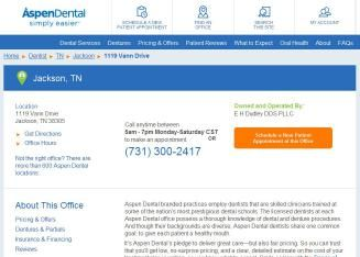 Results 1 - 30 of 106  106 listings of Dentists in Jackson on YP.com. Find reviews, directions & phone   numbers for the best 24 hour emergency dentist in Jackson,