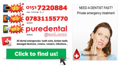 Emergency dentist in Liverpool - Allerton Road & Rodney Street dental clinics. All   new patient dental emergencies treated. Click for our contact details.