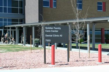 Dental Clinic #2 is the newest clinic at Fort Carson, CO. and resides within the   Soldier Family Care Center (SFCC). The clinic has 24 massaging chairs, a full
