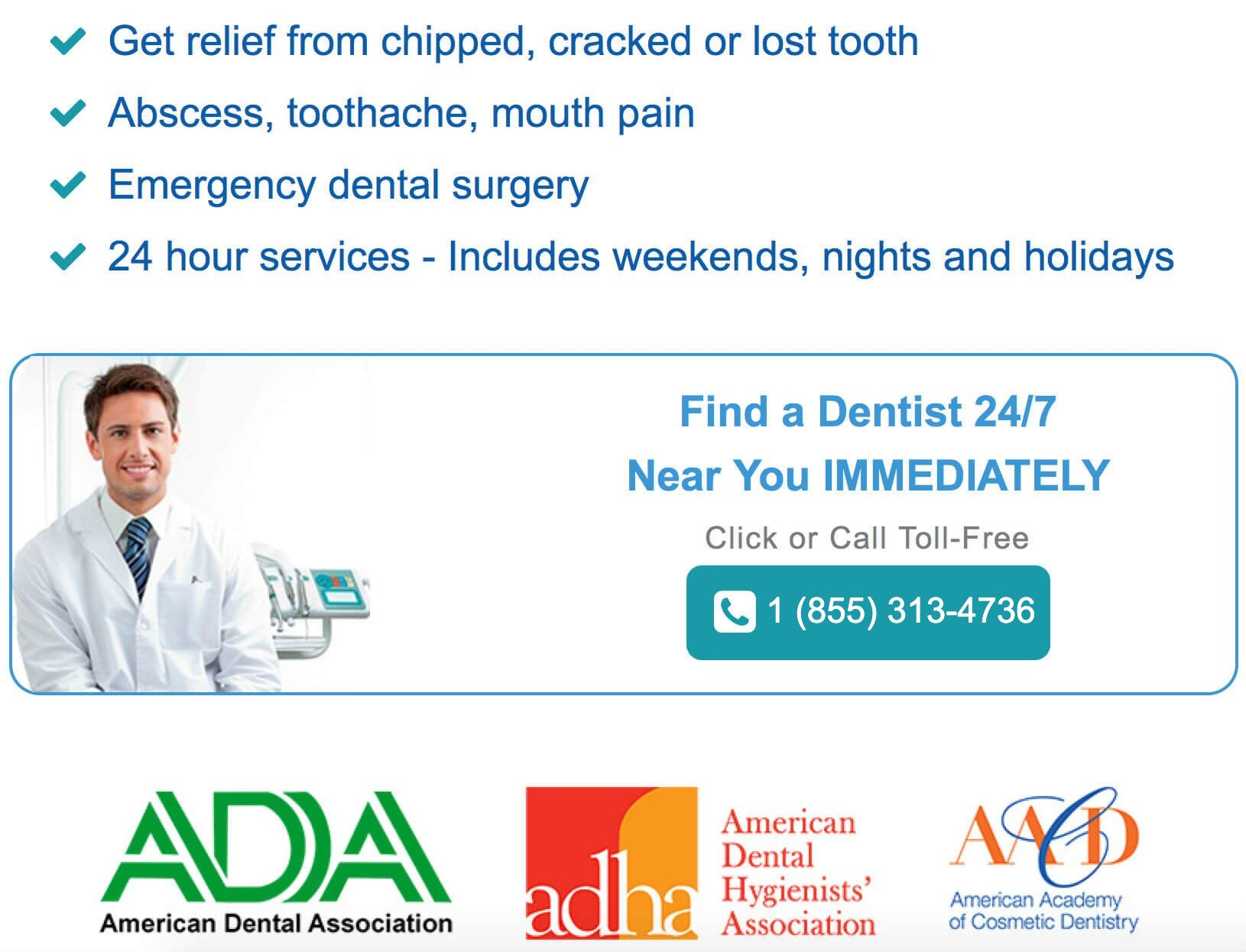 Dentist Dc 37 – Find Local Dentist Near Your Area
